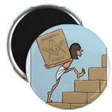 "Solomon's Temple 2.25"" Magnet (100 pack)"