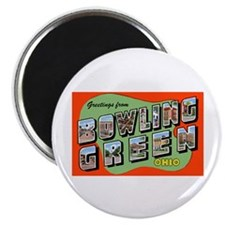 "Bowling Green Ohio Greetings 2.25"" Magnet (10 pack"