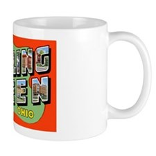 Bowling Green Ohio Greetings Mug
