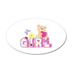 BABY GIRL Wall Decal