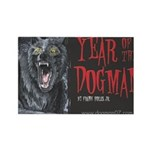 Year of the Dogman Rectangle Magnet