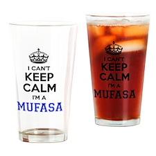 Funny Mufasa Drinking Glass