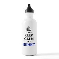 Funny Munky Water Bottle