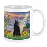 Cloud Angel & Belgian Shepherd Mug