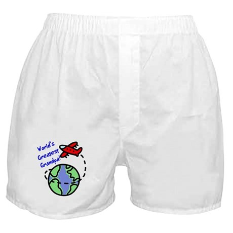 World's Greatest Grandpa Boxer Shorts