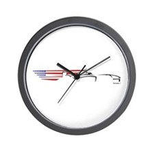 Formula 1 USA Wall Clock