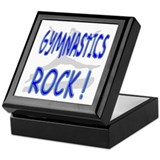Gymnastics Rock ! Keepsake Box