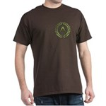 Masons square in a circle Dark T-Shirt