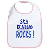 Sky Diving Rocks ! Bib