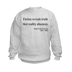 Ralph Waldo Emerson 10 Kids Sweatshirt