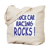 Stock Car Racing Rocks ! Tote Bag