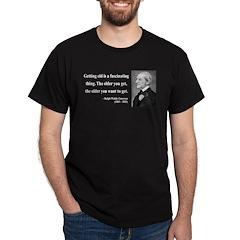 Ralph Waldo Emerson 18 Dark T-Shirt
