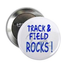 "Track & Field Rocks ! 2.25"" Button (100 pack)"