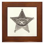 Sovereign Individual Badge on Framed Tile