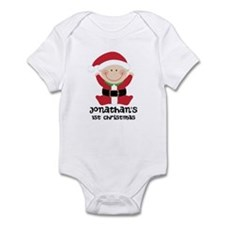 Santa Claus 1st Christmas Personalized Body Suit