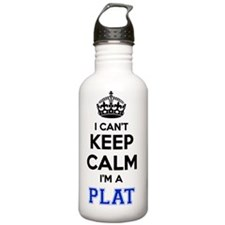 Funny Plats Water Bottle