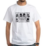 HAIR CUT CHART white t-shirt