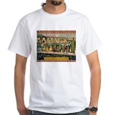 BARNUM AND BAILEY FREAK SHOW white t-shirt