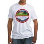 Peace in Switzerland Fitted T-Shirt