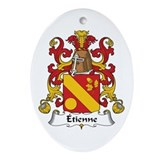 Étienne Oval Ornament