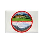 Peace in Switzerland Rectangle Magnet (100 pack)