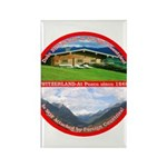Peace in Switzerland Rectangle Magnet