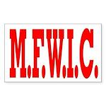 M.F.W.I.C. Rectangle Sticker