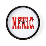 M.F.W.I.C. Wall Clock