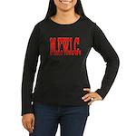 M.F.W.I.C. Women's Long Sleeve Dark T-Shirt