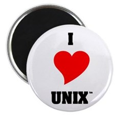 Unix Lovers Magnet