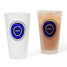 Huntingtons Disease Hope Drinking Glass