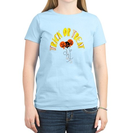 Trick or Treat Pumpkins Women's Light T-Shirt