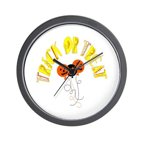 Trick or Treat Pumpkins Wall Clock
