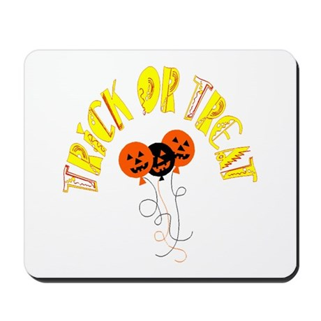 Trick or Treat Pumpkins Mousepad