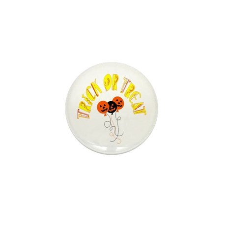 Trick or Treat Pumpkins Mini Button (100 pack)