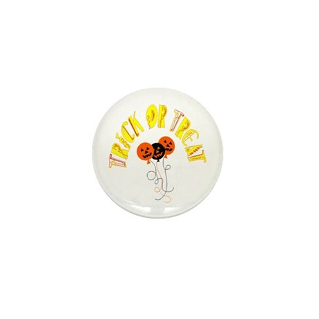 Trick or Treat Pumpkins Mini Button