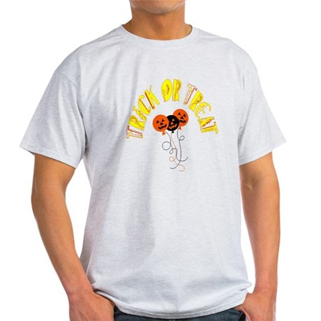 Trick or Treat Pumpkins Light T-Shirt