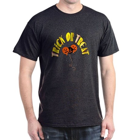 Trick or Treat Pumpkins Dark T-Shirt