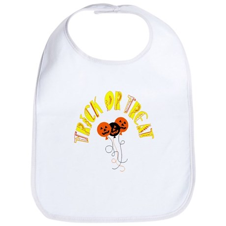 Trick or Treat Pumpkins Bib