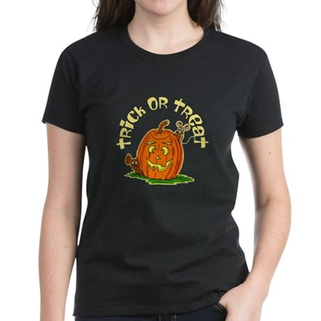 Pumpkin Mice Women's Dark T-Shirt