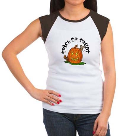 Pumpkin Mice Women's Cap Sleeve T-Shirt