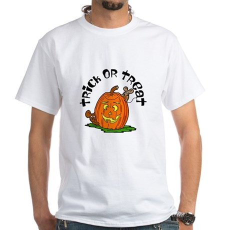Pumpkin Mice White T-Shirt