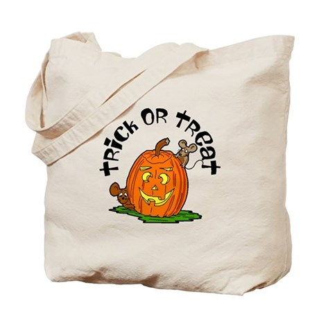 Pumpkin Mice Tote Bag