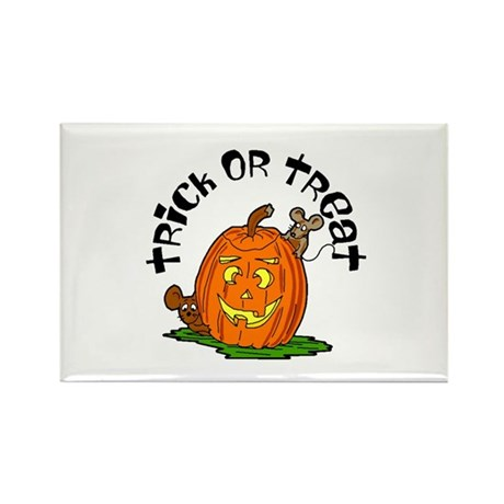 Pumpkin Mice Rectangle Magnet (100 pack)