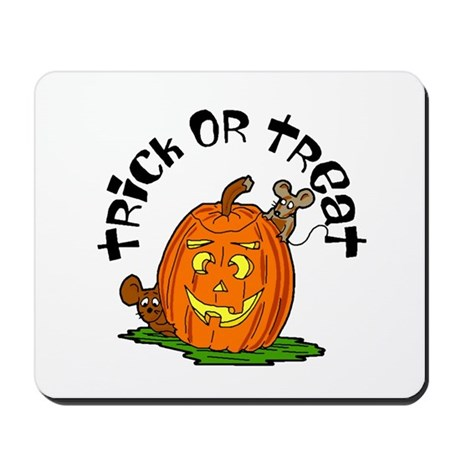Pumpkin Mice Mousepad