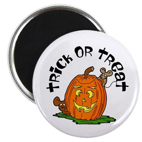 "Pumpkin Mice 2.25"" Magnet (100 pack)"