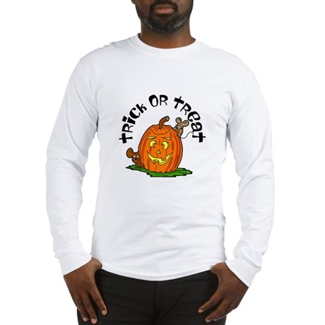 Pumpkin Mice Long Sleeve T-Shirt