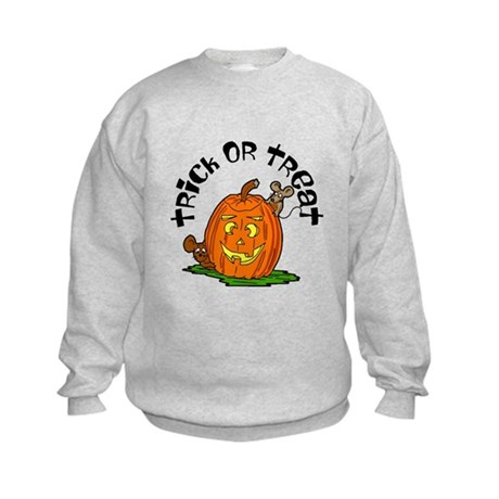 Pumpkin Mice Kids Sweatshirt