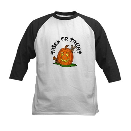 Pumpkin Mice Kids Baseball Jersey