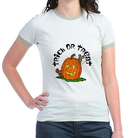 Pumpkin Mice Jr. Ringer T-Shirt